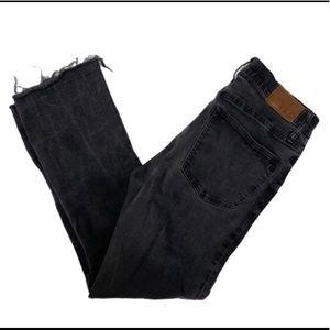 Madewell Cali Demi Boot Crop Size 28